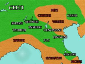 Le popolazioni della Gallia Cisalpina nel III secolo a.C.