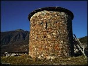 Dalla Torre di Zerba si poteva controllare tutta la Val Trebbia